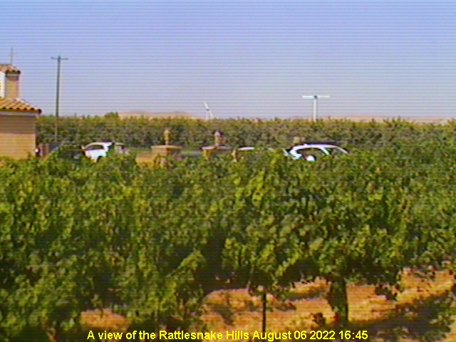 Latest webcam image from Bonair Winery, Yakima Valley